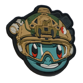 "Patchzone ® ""Tactical Squirtle\"" PVC Patch"