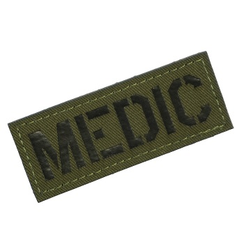 "Patchzone ® ""Medic"" Patch - Olive"