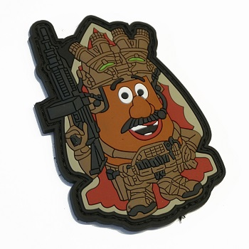 "Patchzone ® ""Mr. Potato"" PVC Patch"