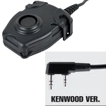 "Tac-Sky Tactical PTT Adapter ""Peltor"" - Kenwood Type"