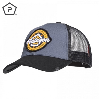 Pentagon ® ERA Trucker Cap - Black/Grey