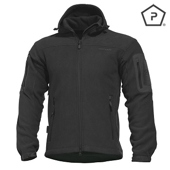 "Pentagon ® Tactical Fleece Jacke ""Hercules"", Black - Gr. XL"