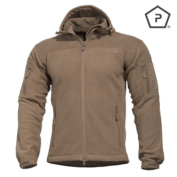 "Pentagon ® Tactical Fleece Jacke ""Hercules"", Coyote - Gr. L"