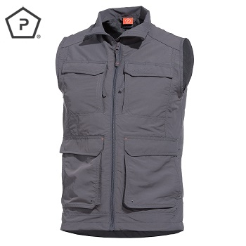 "Pentagon ® Expedition Weste ""Gomati"", Grey - Gr. L"