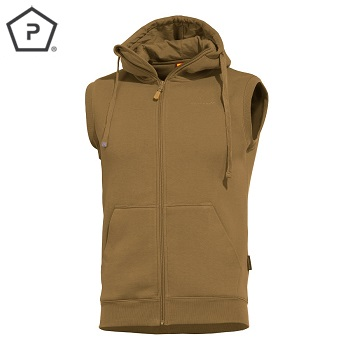 "Pentagon ® Sweater Weste ""Thespis"", Coyote - Gr. L"