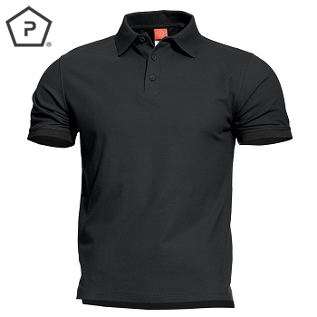 Pentagon ® Aniketos Tactical Polo Shirt, Black - Gr. XL