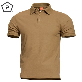 Pentagon ® Aniketos Tactical Polo Shirt, Coyote Brown - Gr. XL