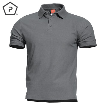 Pentagon ® Aniketos Tactical Polo Shirt, Wolf Grey - Gr. L