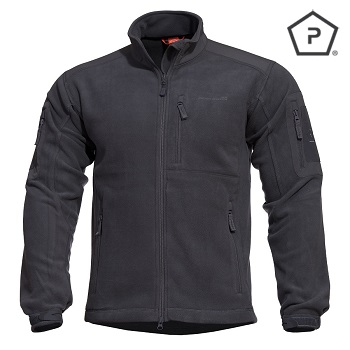 "Pentagon ® Tactical Fleece Jacke ""Perseus"", Black - Gr. L"