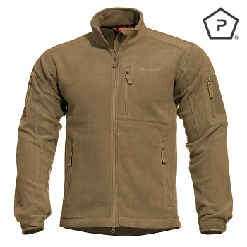 "Pentagon ® Tactical Fleece Jacke ""Perseus"", Coyote - Gr. L"