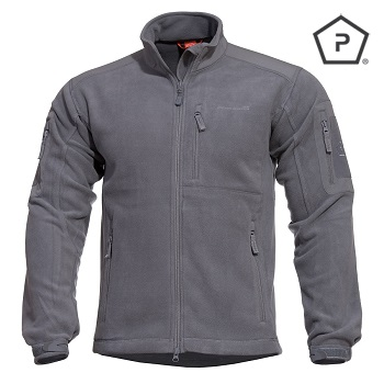 "Pentagon ® Tactical Fleece Jacke ""Perseus"", Grey - Gr. XL"