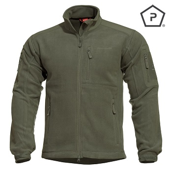 "Pentagon ® Tactical Fleece Jacke ""Perseus"", Olive - Gr. L"