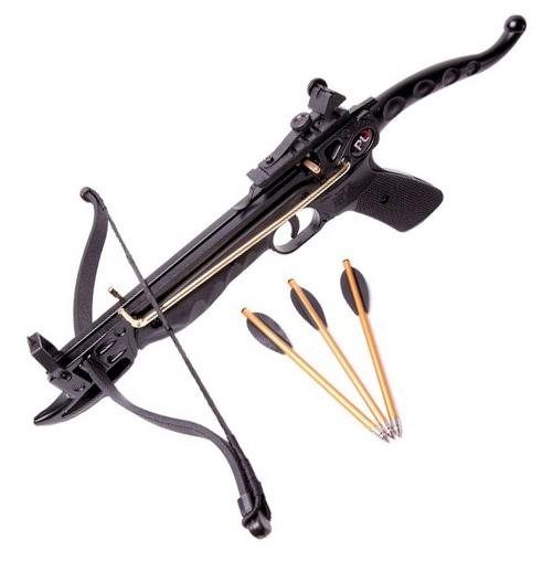 "Armbrustpistole ""Cobra"" 80 LBS - Schwarz"