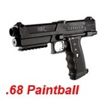 TIPPMANN TPX Cal .68 Paintball Marker - Black