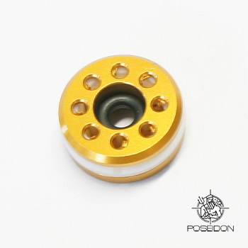 Poseidon ICE Breaker Piston Head für Marui - Gold (ø 13.5mm)
