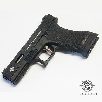 Poseidon Custom WE G17 GBB - Black