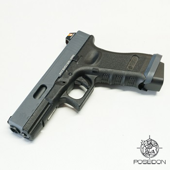 Poseidon Custom P17 Evo GBB - Black/Grey