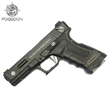 Poseidon Custom WE G18C GBB - Black