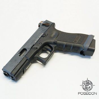Poseidon Custom P18C Evo GBB - Black/Grey