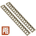 PTS x ERGO 18 Slot Lowpro Rail Cover - FDE