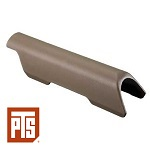 "PTS Cheek Riser CTR/MOE Stock (0.25"") - FDE"