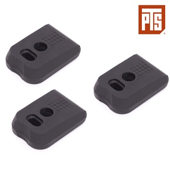 PTS Enhanced Pistol Shockplate (P17 Type) - Black (3er Pack)
