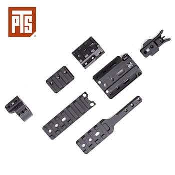 PTS Unity Tactical FUSION™ Mount Kit - Black