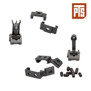 PTS x Griffin Armament Modular BUIS Set - Black