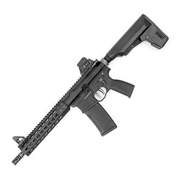 PTS x KWA Mega Arms MKM CQB (AR-15) GBBR - Black