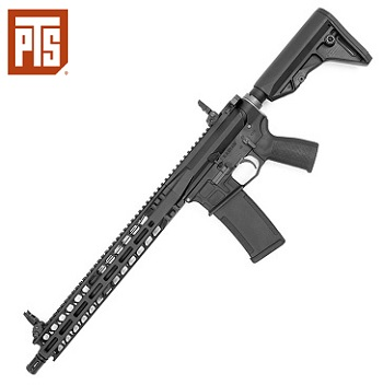PTS x KWA Radian Model 1 (AR-15) GBBR - Black