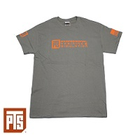 PTS Logo T-Shirt, Grey - Gr. L