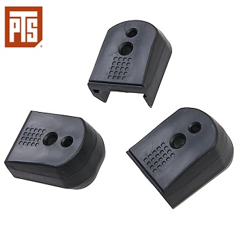 PTS Enhanced Pistol Shockplate (HiCapa Type) - Black (3er Pack)