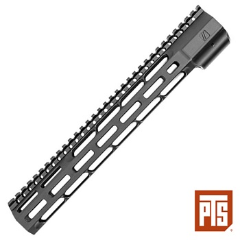 "PTS x ZEV ® Wedge Lock Rail System ""M-LOK"" (12 inch) - Black"