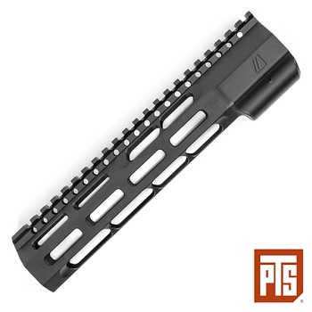 "PTS x ZEV ® Wedge Lock Rail System ""M-LOK"" (9.5 inch) - Black"