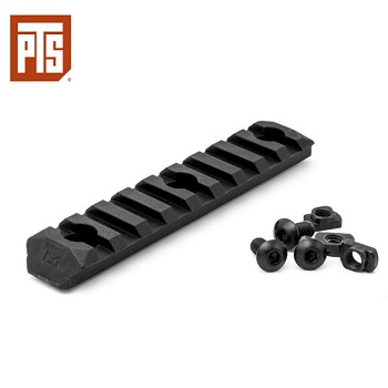 "PTS Enhanced Rail Section ERS ""M-LOK"" (9 Slots) - Black"