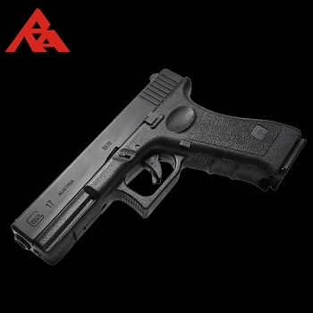 RA-Tech Custom WE G17 GBB (Steel Slide) - Black