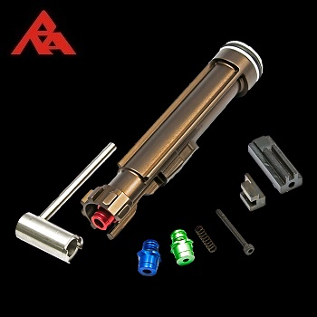 RA-Tech CNC Aluminium Nozzle Set (Magnetic Locking NPAS) - WE ACR Serie