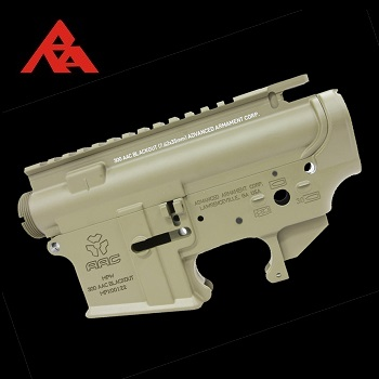 "RA-Tech Forged Receiver für WE M4/M16 Serie ""300 AAC Blackout MPW Type"" - FDE"