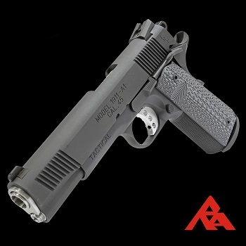 RA-Tech x Trust 1911-A1 TRP .45 ACP (Steel) Gas / Co² BlowBack - Black