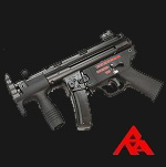 "RA-Tech Custom WE MP5 K ""Apache"" GBB SMG (NPAS)"