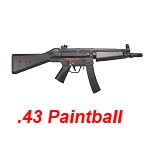 APS RAM 11S MP5A4 Cal .43 Real Action Paintball Marker