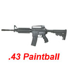 APS RAM 1R M4 RIS Cal .43 Real Action Paintball Marker v-5
