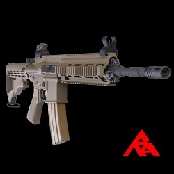 RA-Tech Custom WE HK416 FDE GBBR (NPAS) - LVL 1