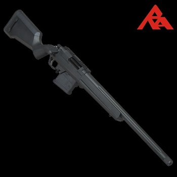 RA-Tech Custom Amoeba Striker S1 Spring Sniper Rifle - Black