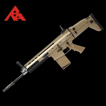 RA-Tech Custom WE SCAR-H MK.17 Mod 0 FDE (NPAS) - LVL 1