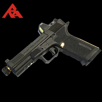 RA-Tech Custom EMG Arms SAI BLU RMR GBB  (Steel Slide) - Black