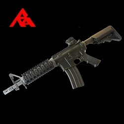 RA-Tech Custom WE Colt M4 Mk. 18 Mod. 0 Black (NPAS) - LVL 1