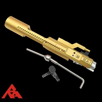 "RA-Tech x EMG Arms SAI Complete Steel Bolt Carrier (CNC) ""Titanium Edition"" - WE M4/M16/HK416 Serie"