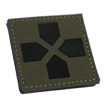 "RayWorx ® ""Medic Cross"" IR Patch - Ranger Green"