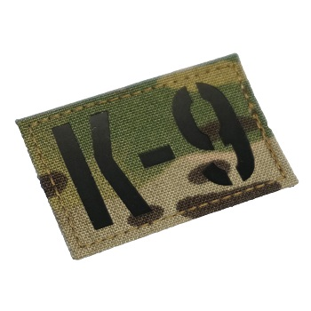 "RayWorx ® ""K-9"" IR Patch - MultiCam"